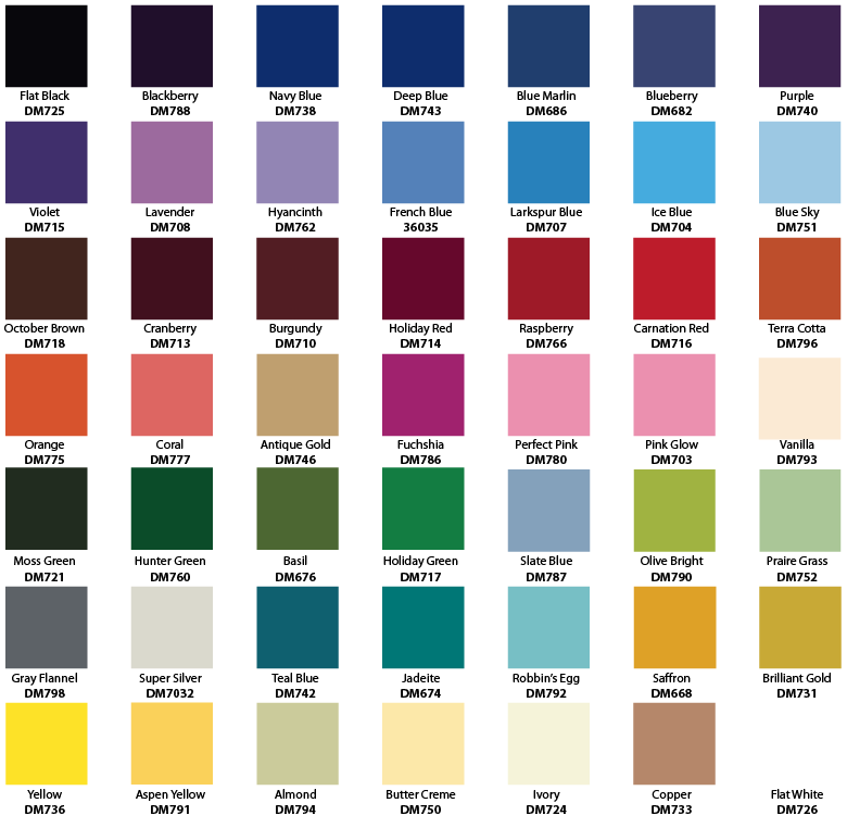 Non metallic car paint colours 13