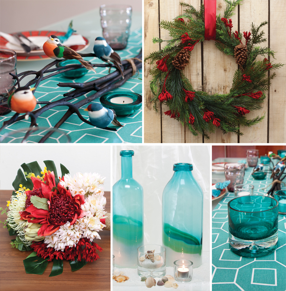 Australian inspired xmas centrepiece ideas the koch blog for Australian christmas decoration