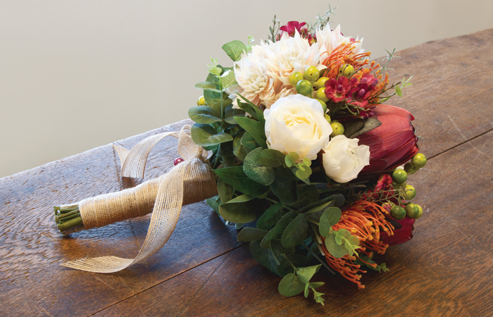 Wedding Bouquets With Native Flowers