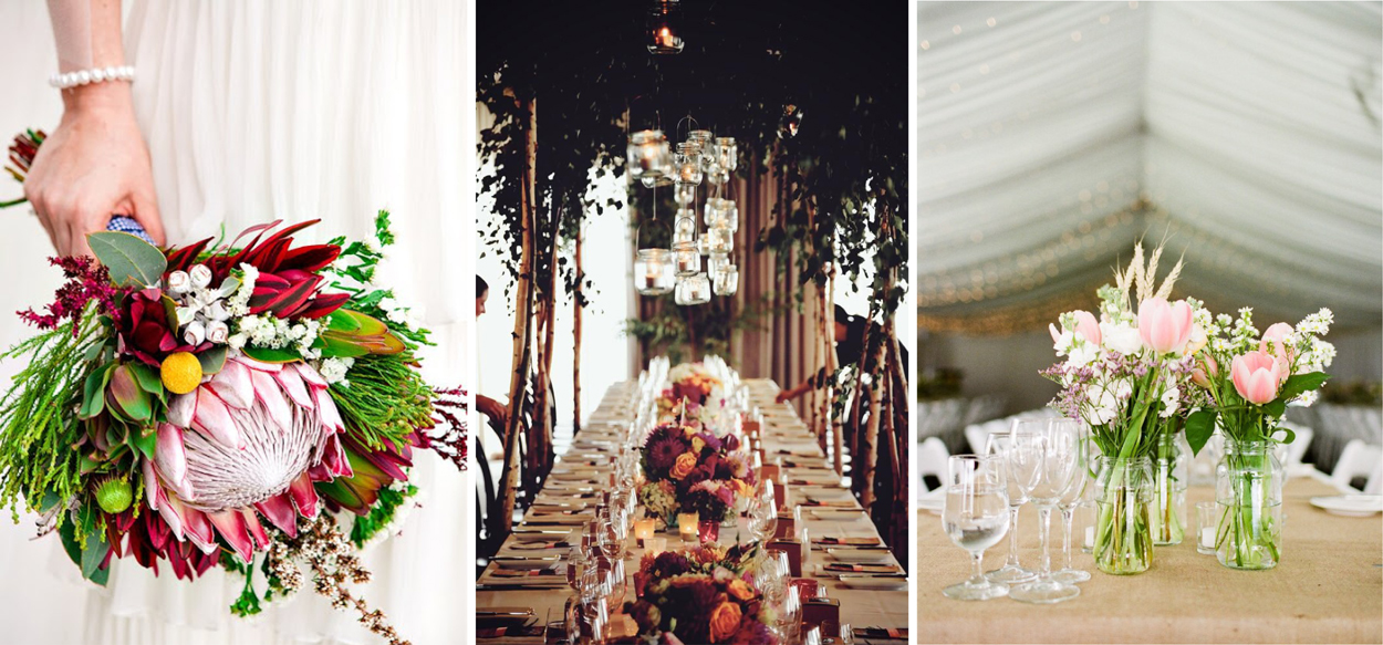 Country wedding ideas for Australian decoration