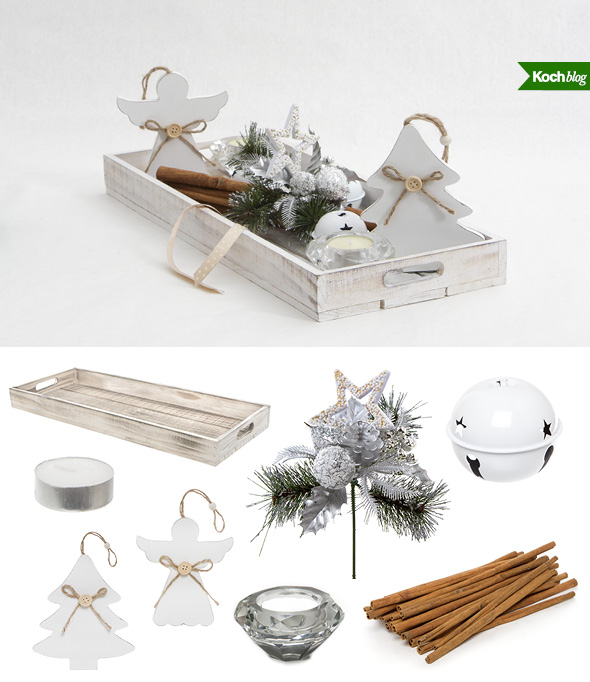 3 Easy Christmas Table Centrepiece Ideas The Koch Blog