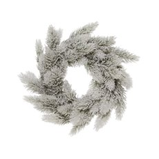 Snowland Pine Wreath (1230cm) White