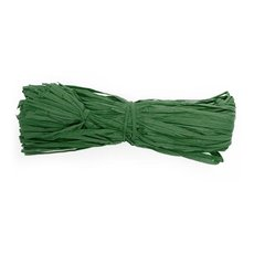 Paper Raffia 100Pce/4mmx135cm Hunter Green