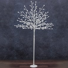 LED Tree Globe Light 1.5m 200L 240V White
