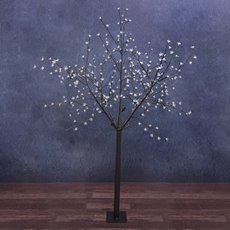 LED Tree Cherry Light 1.8m 350L 240V Brown