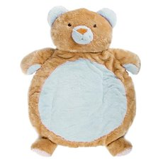 Baby Mat Teddy Bear 90cmHT. Brown Blue