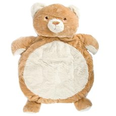 Baby Mat Teddy Bear 90cm.HT Brown Cream