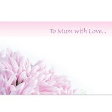 Cards Chrysie Ball Mum  To Mum with Love   PK50