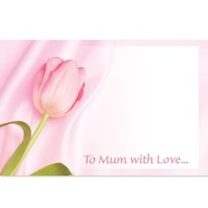 Cards Tulip  To Mum with Love   PK50
