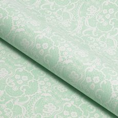 Counter Roll Lace White on Mint 80gsm (50cmx60m)