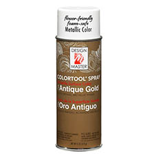 Design Master Spray Antique Gold