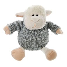 Sheep Lambert 25cm.HT White W/Jumper Grey