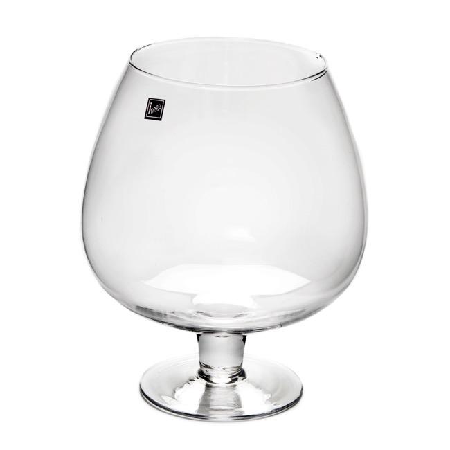 Glass Brandy Balloon 15TDx21Dx26cmH Clear