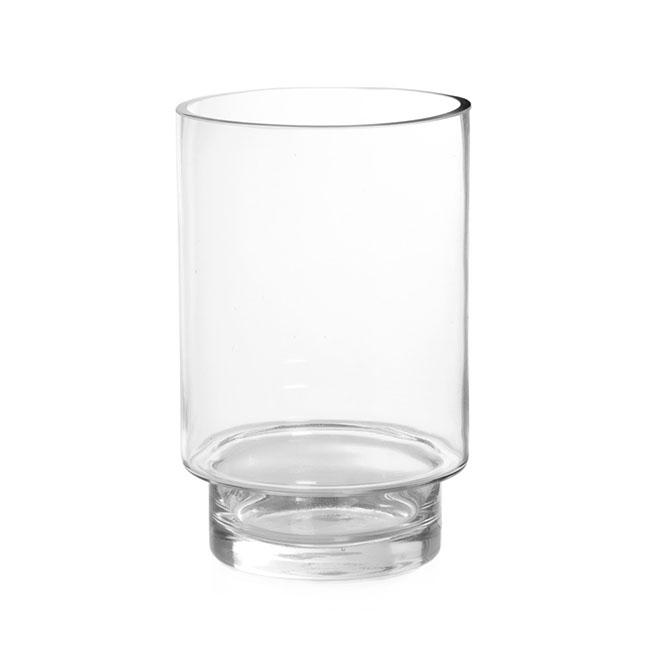 Glass Hurricane Florence Clear 16dx25cmh