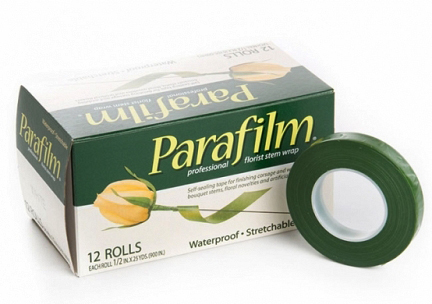 Be sure to stretch the parafilm wrap as you wind it to strengthen the seal