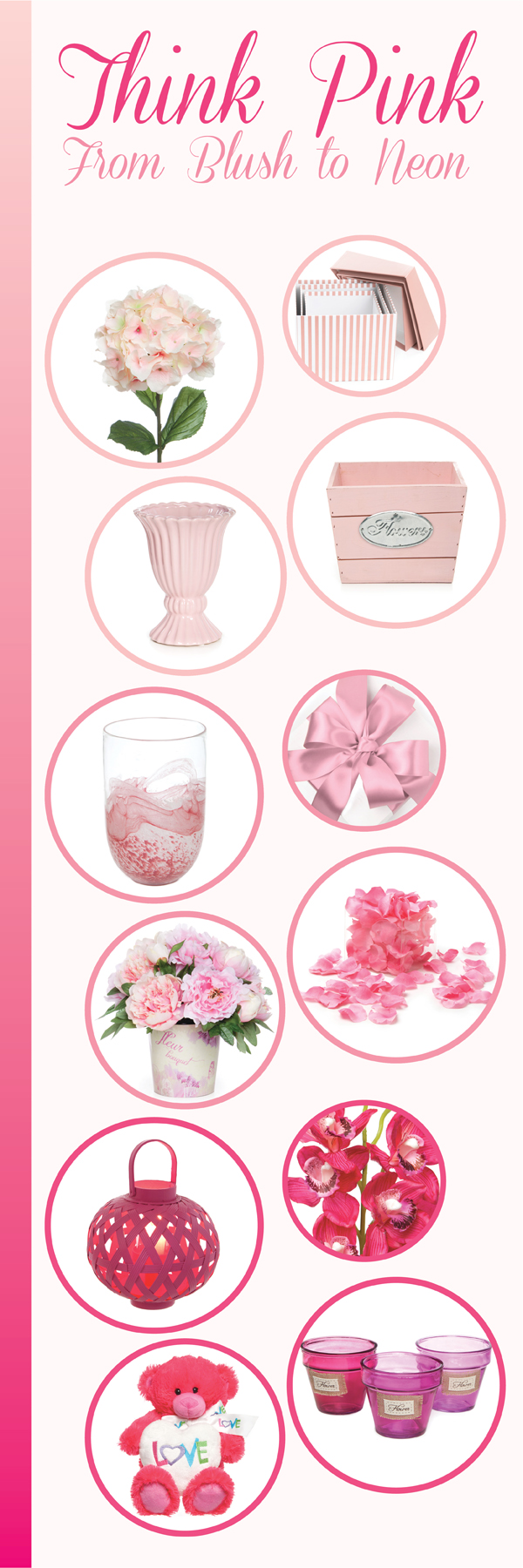 Pink Decorating Ideas Valentines Day Moodboards