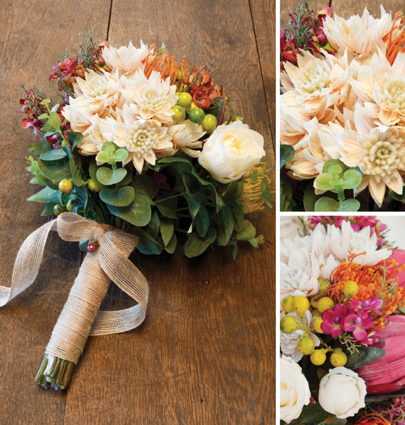 Wedding Bouquets with Native Flowers | The Koch Blog