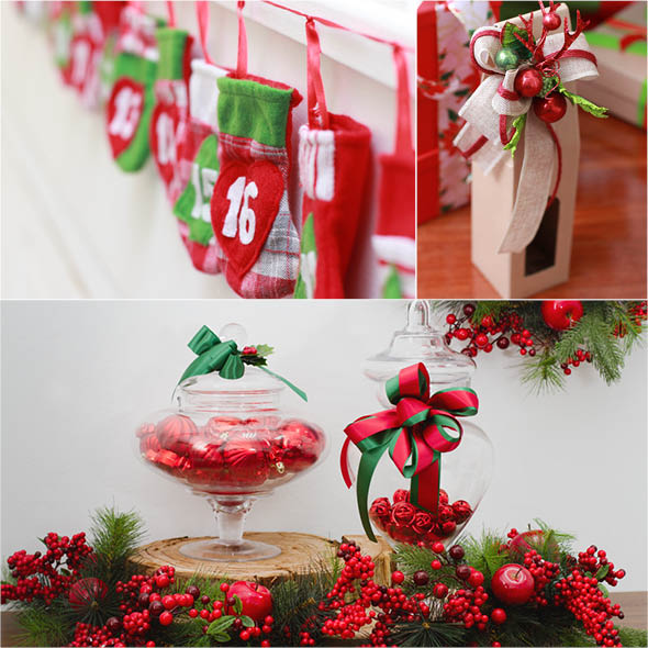 Traditional Christmas with Rustic Elements