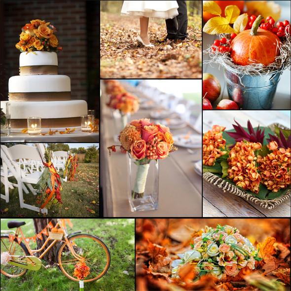 7 Beautiful DIY Autumn Wedding Ideas