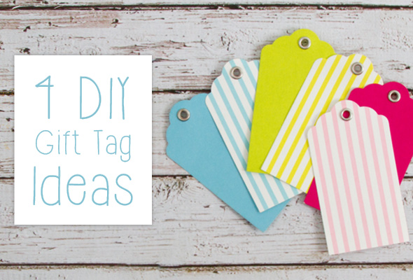 4 Diy Gift Tag Ideas