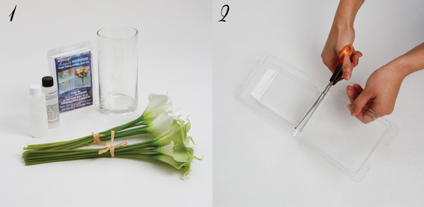 How to use acrylic water with silk flowers the koch blog acrylic water step 1 mightylinksfo
