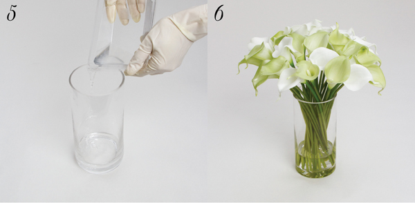 How To Use Acrylic Water With Silk Flowers The Koch Blog