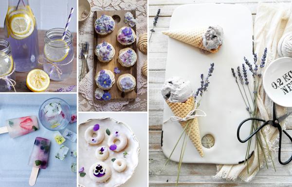 Floral Food Ideas & Inspiration