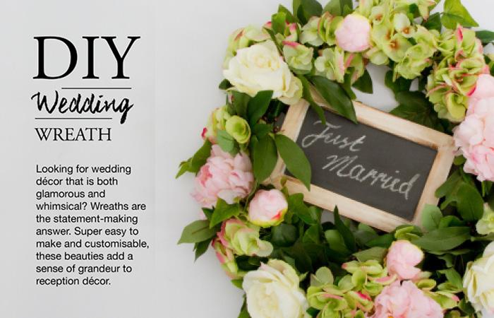 5 step diy wedding wreath tutorial the koch blog junglespirit Images