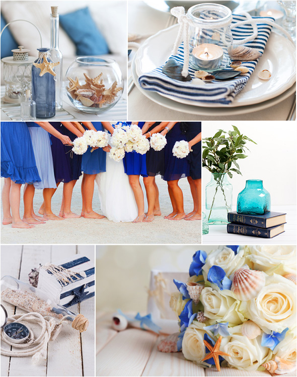 Beach Wedding Theme Nautical