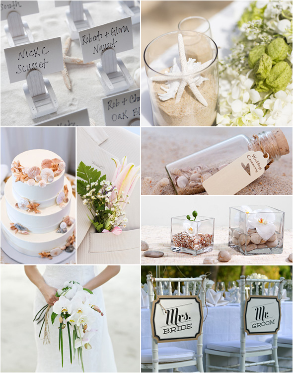 Beach Wedding Theme Glamour
