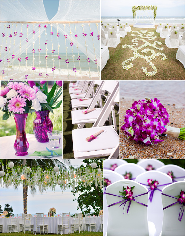 Beach Wedding Theme Tropical