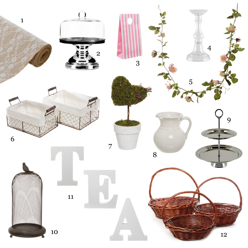 Afternoon Tea Moodboard