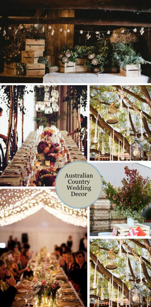 Images from top, going right: Little White Wedding Co, The Style Co, Nouba, Ruffled Blog