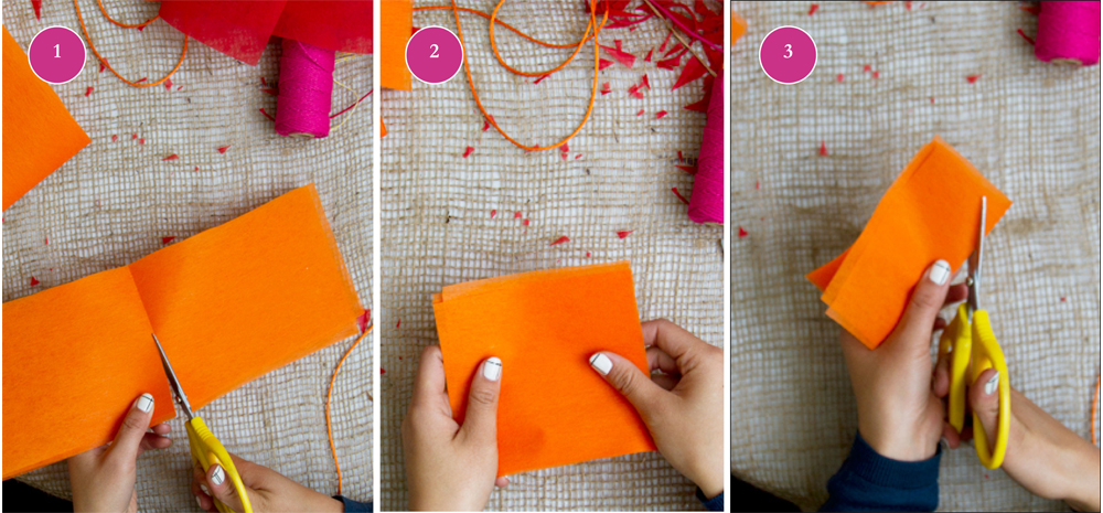 Paper Flower Craft Project Floral Garland