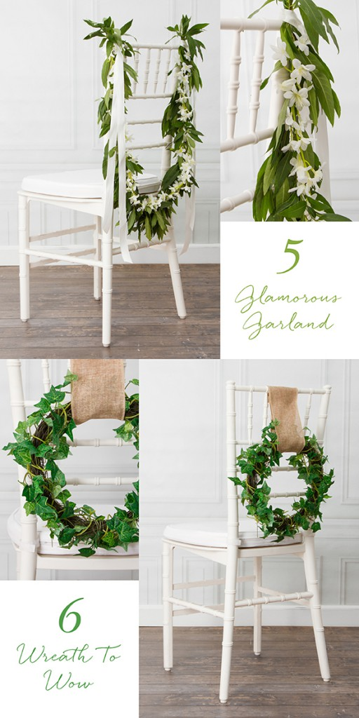 DIY_Wedding_Chair_Decorations_With_Garland