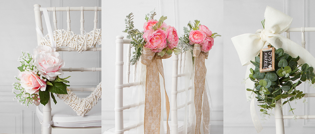 8 beautiful diy wedding chair decorations
