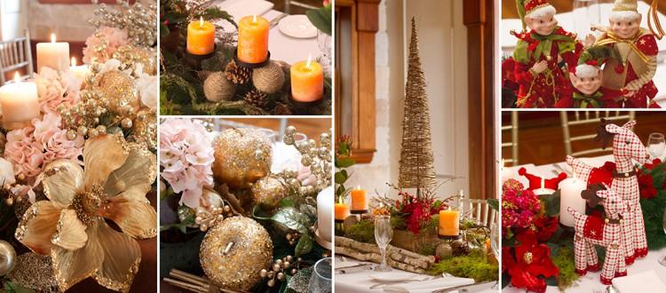 Christmas Table Centrepieces Inspiration 2015 Blog
