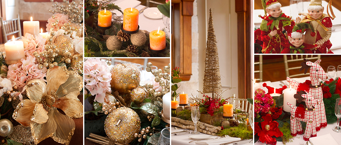 3 Creative Themes For Christmas Table Centrepieces