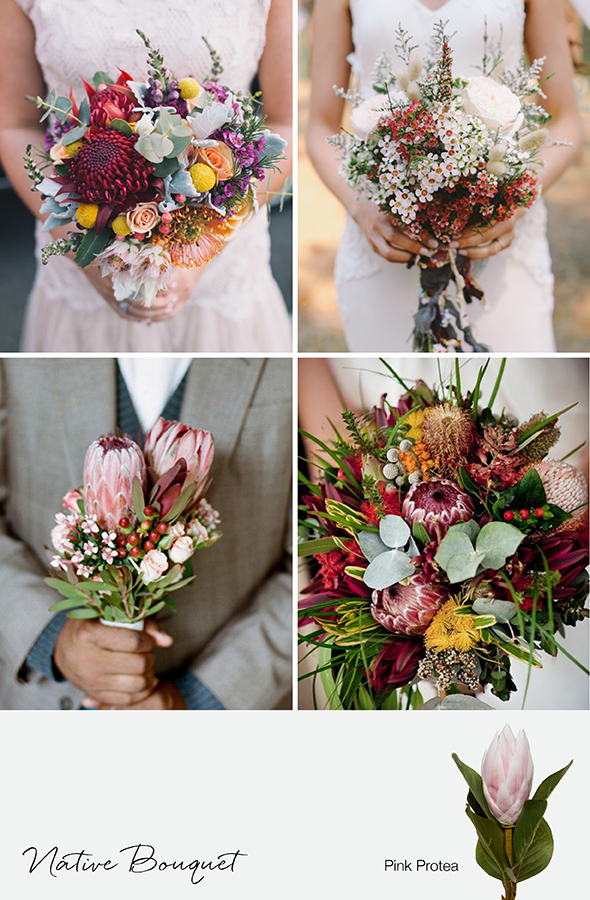 3 beautiful different wedding bouquet ideas for Wedding flowers ideas pictures