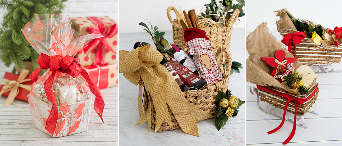Christmas Hamper Basket.2 Beautiful Ways To Present Merry Christmas Hampers