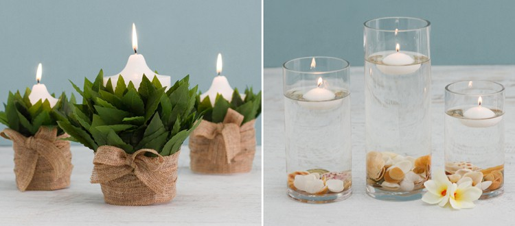 unique candle decoration ideas