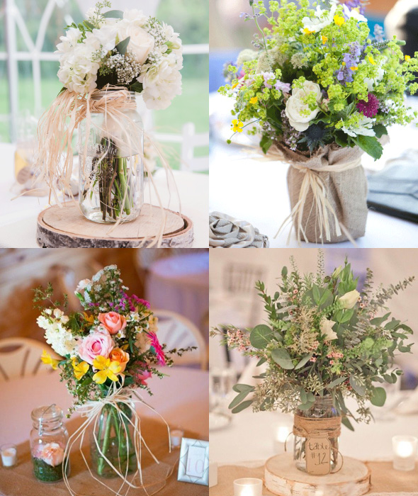 Decorate with Twine and Raffia for Weddings