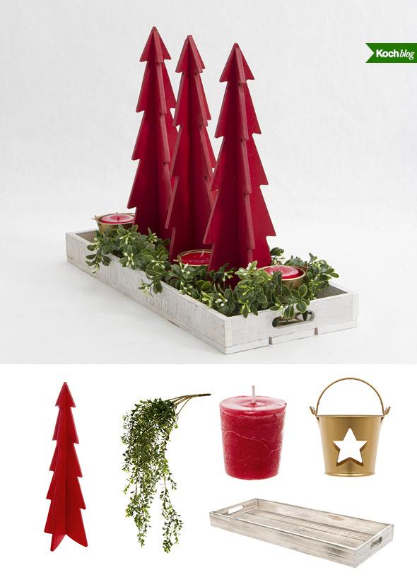 3 easy christmas table centrepiece ideas the koch blog
