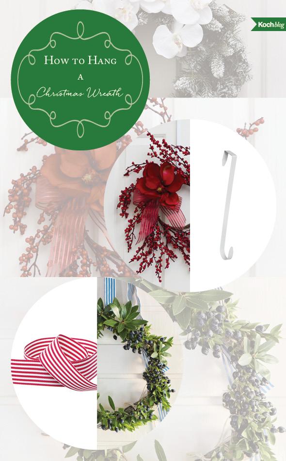 how to hang a xmas wreath blog 2