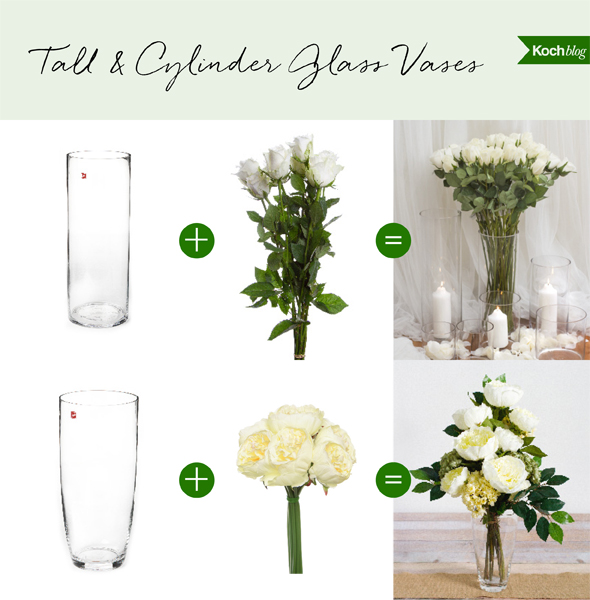 How To Pick The Perfect Vase Shapes For Your Flowers Koch Co