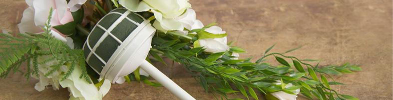 Bridal Foam Bouquet Holder