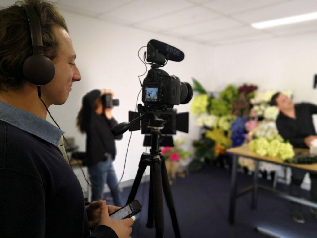 Filming John Emmanuel