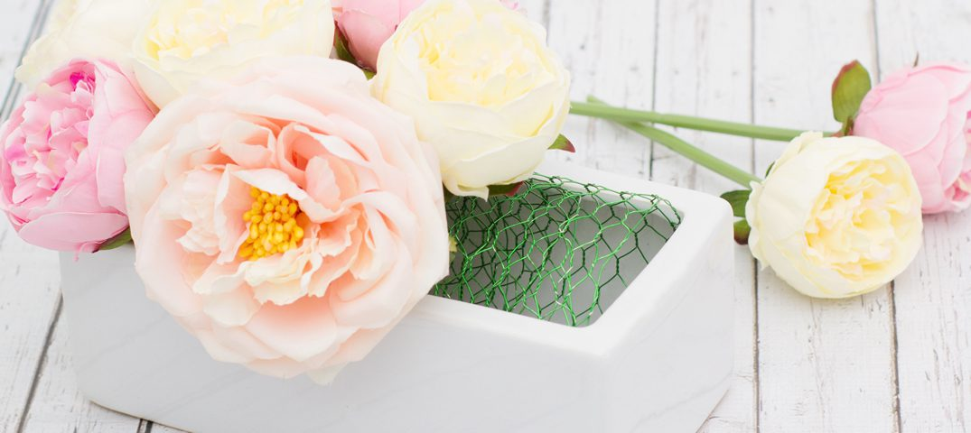 What are alternatives to floral foam