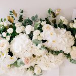 How to Make a Silk Flower Garland From Scratch