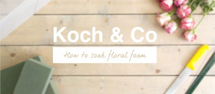How To Soak Floral Foam
